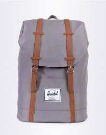 Herschel Supply Retreat Grey/Tan Synthetic Leather 19,5l