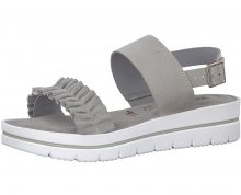 Tamaris Dámské sandále 1-1-28702-20-207 Lt Grey 37