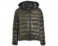 Deha Dámská bunda Printed Padded Jacket Reversib B64880 Olive Grey S