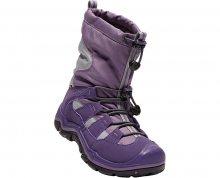 KEEN Junior boty Winterport II Wp purple plumeria/alloy 32-33