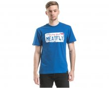 Meatfly Triko Carplate T-shirt A - Blue S