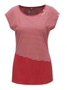 Červené dámské pruhované tričko Ragwear Ninon Organic