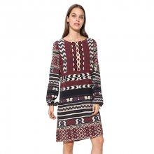 Desigual Dámské šaty Vest Marfil 17WWVW77 1003 36