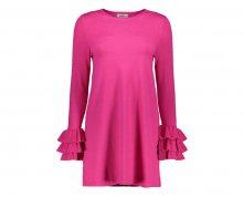 ONLY Dámské šaty Ginny 7/8 Dress Knt Pink Peacock XS