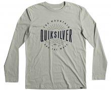 Quiksilver Triko Lsclassictemadw Slate Gray EQYZT04561-GHR0 S