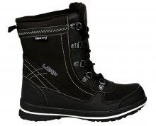 LOAP Dámské zimní boty Denia Black/Bl De Blanc SBL1749-V11A 36