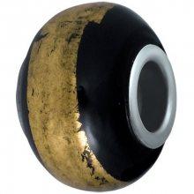 Morellato Přívěsek Drops Black and Gold SCZ63