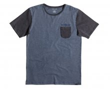 Quiksilver Triko Scribble Pocket Tee Dark Denim EQYKT03530-BRQ0 S