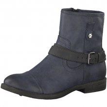 Tamaris Elegantní dámské kotníkové boty 1-1-25396-29-829 Navy/Anthrac 36