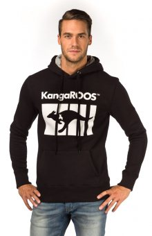 Kangaroos Unisex Mikina T8198_aw15 černá