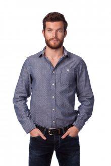 Brave Soul Pánská košile Borgia_aw15 modrá