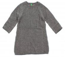 Šaty dětské United Colors of Benetton | Hnědá | Dívčí | 6-7 let
