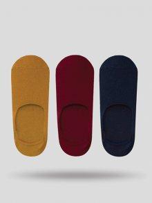 John Frank Set pánských ponožek - 3 ks JF3NS17S11_MULTICOLOR