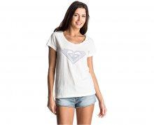 Roxy Dámské triko Bobby Twist Touch Of Mex Marshmellow ERJZT03797-WBT0 L