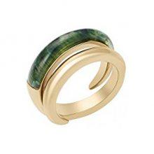 Michael Kors Dámský pozlacený prsten MKJ5933710 56 mm