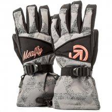 Meatfly Dámské prstové rukavice Destiny Gloves B - Grey Triangle Print S