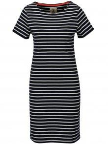 Tmavě modré pruhované šaty Tom Joule Riviera