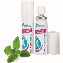 Miradent Ústní sprej pro okamžitě svěží dech Halitosis Spray 15 ml