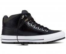 Converse Tenisky Chuck Taylor AS Street Boot Black/Storm Wind/White 40
