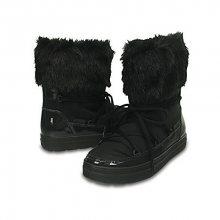 Crocs Dámské sněhule LodgePoint Lace Boot W Black 203423-001 36-37