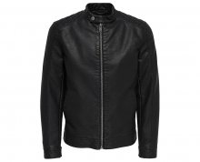 ONLY&SONS Pánská bunda Kris Jacket Pu Black S