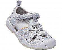 KEEN Dětské sandály Moxie Sandal Silver KIDS 25-26