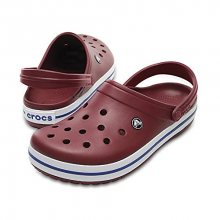 Crocs Pantofle Crocband Garnet/White 11016-6MS 36-37