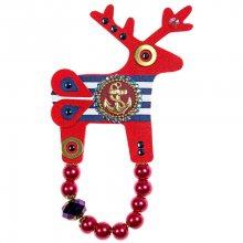 Deers Velký červený námořnický jelínek Water Lady