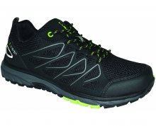 LOAP Pánské outdoorové boty Jenner Black/Green Flash HSM18151-V11N 42