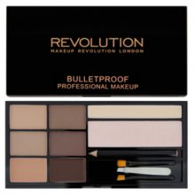 Makeup Revolution Ultra Paletka na obočí (Ultra Brow) Fair to Medium
