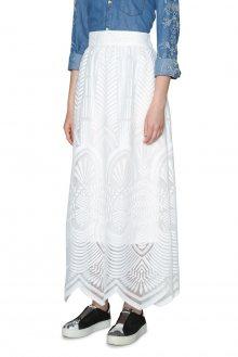 Desigual bílá maxi sukně Lyon France