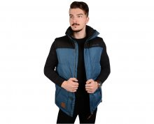 Meatfly Pánská vesta West 2 Mns Vest A - Petrol Heather M