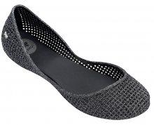Zaxy Dámské baleríny Amora Fem 81982-53234 Black/Glitter Silver 35-36