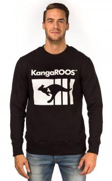 Kangaroos Unisex Mikina T8197_aw15 černá