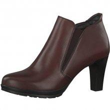 Tamaris Elegantní dámské kotníkové boty 1-1-25395-29-549 Bordeaux 36
