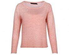 Vero Moda Dámský svetr Rylia Ls Wide Boatneck Blouse Strawberry Ice XS