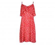 Fornarina Dámské šaty Marina-Rosso Abito S
