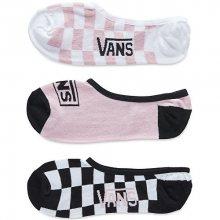 VANS Balení 3ks dámských ponožek Check U L8R Man Canoodle Multi VA3IMM448