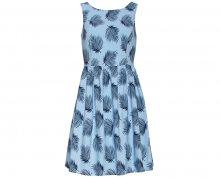 Smashed Lemon Dámské krátké šaty Light Blue 18422/17 S