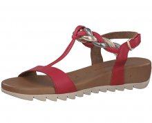 Tamaris Dámské sandále 1-1-28709-20-597 Red Comb 37