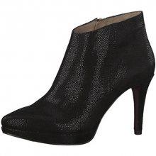 Tamaris Elegantní dámské kotníkové boty 1-1-25305-29-030 Blk Str.Suede 36