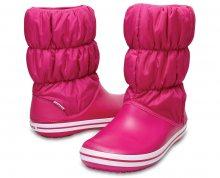 Crocs Dámské sněhule Winter Puff Boot Women Candy Pink/Candy Pink 14614-6X3 36-37