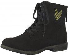 Tamaris Elegantní dámské kotníkové boty 1-1-25134-39-001 Black 37