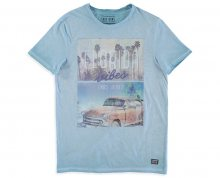 Cars Jeans Pánské triko Vibes 4125771 Greyblue M