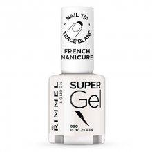 Rimmel Gelový lak na nehty pro francouzskou manikúru (Super Gel French Manicure) 12 ml 092 Ivory Tower