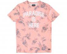 Cars Jeans Pánské triko Paradise 4014764 Coral S