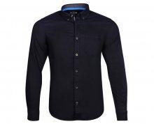 s.Oliver Pánská košile 13.802.21.2921.5930 Blue Ink L