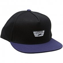 VANS Pánská kšiltovka Mini Full Patch II Snapback Black/Dress Blues VA36I6IZO