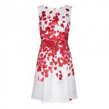 Smashed Lemon Dámské krátké šaty Red 18073/04 - SLEVA
