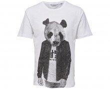 ONLY&SONS Pánské tričko Simon Funnyprint Ss Tee Bright White S